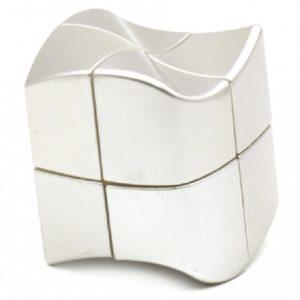 2x2x2 YJ Yuanfang Silver