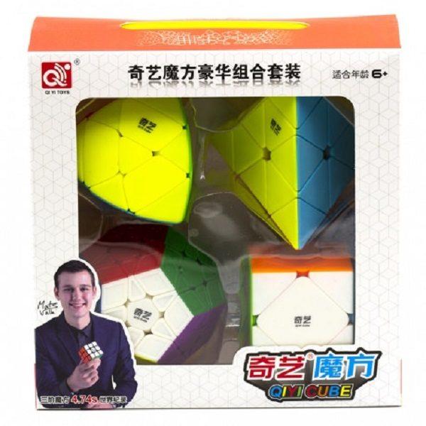 Set 4 в 1 QiYi Luxurious Stickerless (смазка в подарок)