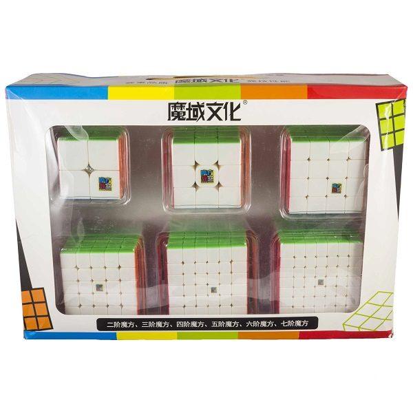 Set MF 2×2-7×7 Stickerless
