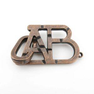 ABC unlock metal