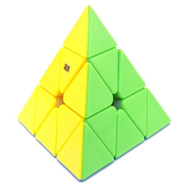 QiYi MS Magnetic Pyraminx Stickerless