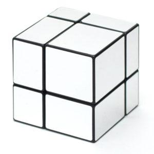 Зеркальный кубик 2х2 | Silver