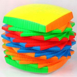 Кубик 17х17 Yuxin Stickerless