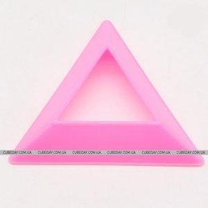 Розовая подставка