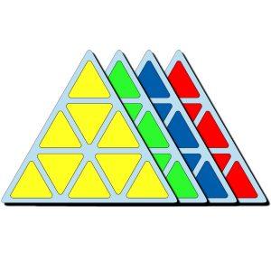 Наклейки Pyraminx Moyu®